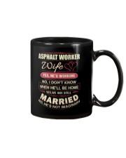 Asphalt Worker Wife  Mug thumbnail