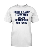 Cabinet Maker Classic T-Shirt front