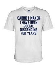 Cabinet Maker V-Neck T-Shirt thumbnail