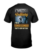 Special Shirt - Tower Climber Classic T-Shirt back