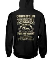 Special Shirt - Concrete Life Hooded Sweatshirt thumbnail
