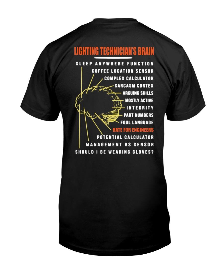 Lighting Technician's Brain Classic T-Shirt