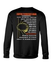 Lighting Technician's Brain Crewneck Sweatshirt thumbnail