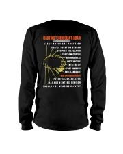 Lighting Technician's Brain Long Sleeve Tee thumbnail