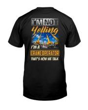 Special Shirt - Crane Operator Classic T-Shirt back