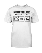 Roofer life Classic T-Shirt front