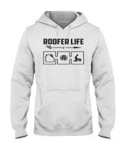 Roofer life Hooded Sweatshirt thumbnail