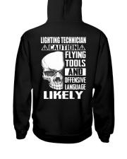 Lighting Technician Hooded Sweatshirt thumbnail
