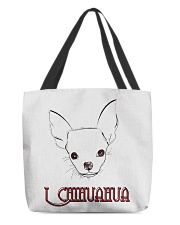 I chihuahua  All-over Tote front