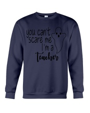 You can't scare me i'm a teacher Crewneck Sweatshirt tile