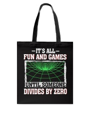 IT'S ALL FUN AND GAMES Tote Bag thumbnail