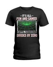 IT'S ALL FUN AND GAMES Ladies T-Shirt thumbnail
