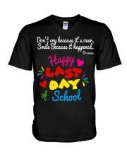 Happy last day of school V-Neck T-Shirt thumbnail