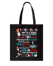 I will teach Tote Bag tile