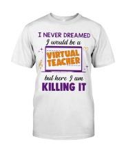 Virtual Teacher Classic T-Shirt front