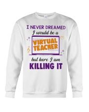 Virtual Teacher Crewneck Sweatshirt thumbnail