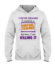 Virtual Teacher Hooded Sweatshirt thumbnail