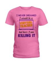 Virtual Teacher Ladies T-Shirt thumbnail
