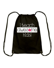 I TEACH AWESOME KIDS Drawstring Bag thumbnail