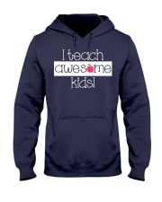 I TEACH AWESOME KIDS Hooded Sweatshirt thumbnail