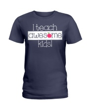 I TEACH AWESOME KIDS Ladies T-Shirt thumbnail