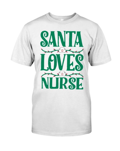 SANTA LOVES NURSE