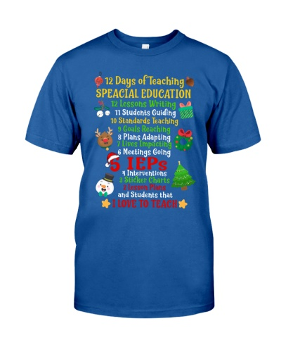 12 DAYS OF TEACHING SPECIAL EDUCATION