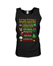 12 DAYS OF TEACHING SPECIAL EDUCATION Unisex Tank thumbnail