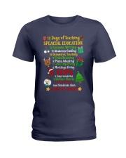 12 DAYS OF TEACHING SPECIAL EDUCATION Ladies T-Shirt thumbnail