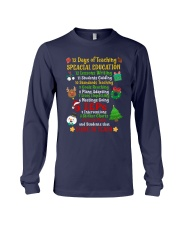 12 DAYS OF TEACHING SPECIAL EDUCATION Long Sleeve Tee thumbnail