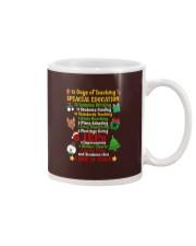 12 DAYS OF TEACHING SPECIAL EDUCATION Mug thumbnail