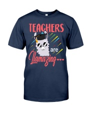 Teachers are llamazing Classic T-Shirt thumbnail