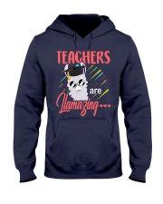 Teachers are llamazing Hooded Sweatshirt thumbnail