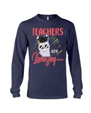Teachers are llamazing Long Sleeve Tee thumbnail