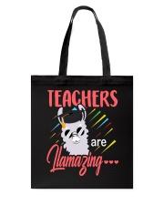 Teachers are llamazing Tote Bag thumbnail
