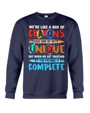 WE'RE LIKE A BOX OF CRAYONS EACH ONE OF US Crewneck Sweatshirt thumbnail