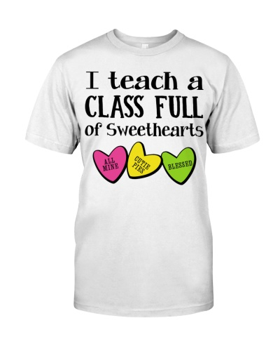 I TEACH A CLASS FULL OF SWEETHEARTS