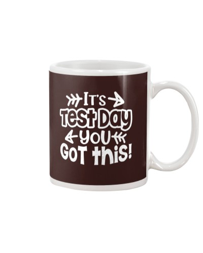 It's Test Day you got this