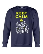 Keep calm and wash your hands Crewneck Sweatshirt thumbnail