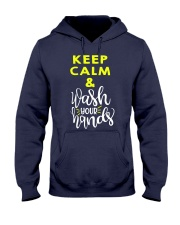 Keep calm and wash your hands Hooded Sweatshirt thumbnail