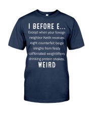 I BEFORE EXCEPT Classic T-Shirt tile