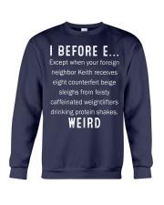 I BEFORE EXCEPT Crewneck Sweatshirt thumbnail