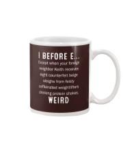 I BEFORE EXCEPT Mug thumbnail