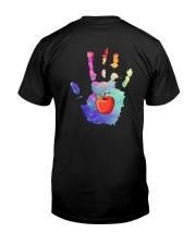 Teacher Hand Classic T-Shirt back