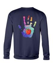 Teacher Hand Crewneck Sweatshirt thumbnail