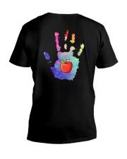 Teacher Hand V-Neck T-Shirt thumbnail