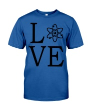 Science Love Classic T-Shirt front