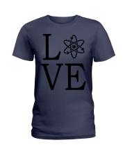 Science Love Ladies T-Shirt thumbnail