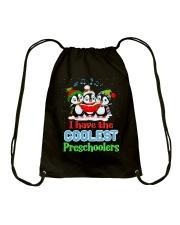 I HAVE THE COOLEST PRESCHOOLERS Drawstring Bag thumbnail