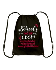 School's out for ever Drawstring Bag tile